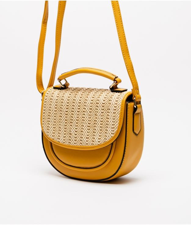 soley crossbody bag - mustard