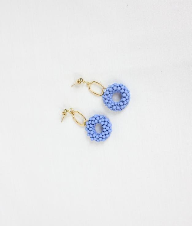 EARRING UMANI - BLUE