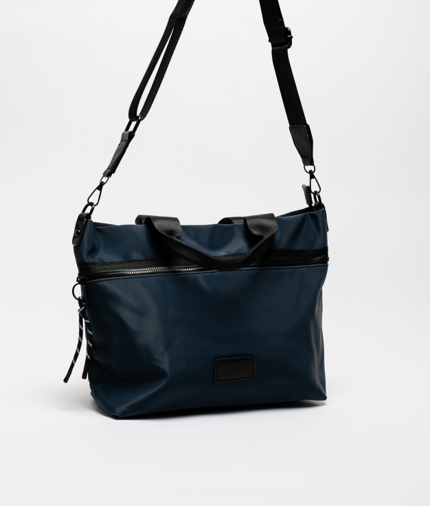 BORSA MANIQUE - BLU NAVY