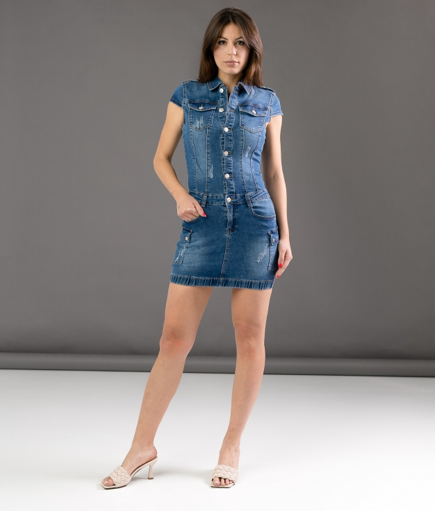 Dress Eleven - Denim