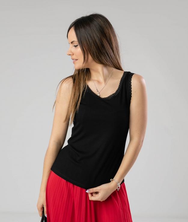 Camiseta Barisme - Negro