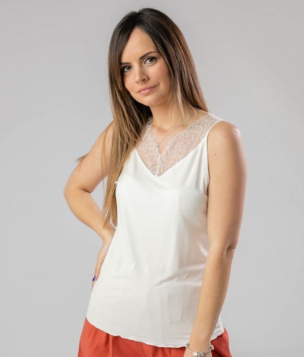 Camiseta Boquere - Bianco