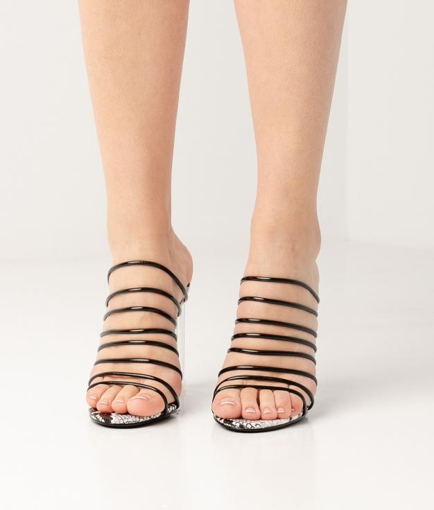 Sandalia de Tacón Greny - Negro