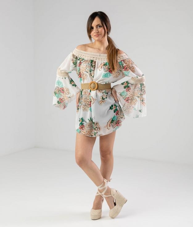 Dress Ruste - White