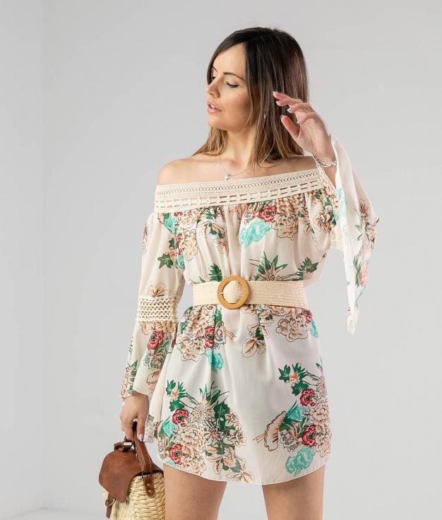 Dress Ruste - Beige
