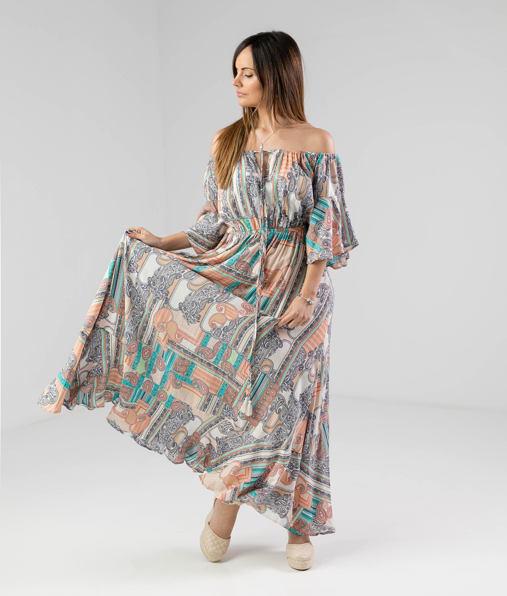 Vestido Bensi - Multicolor