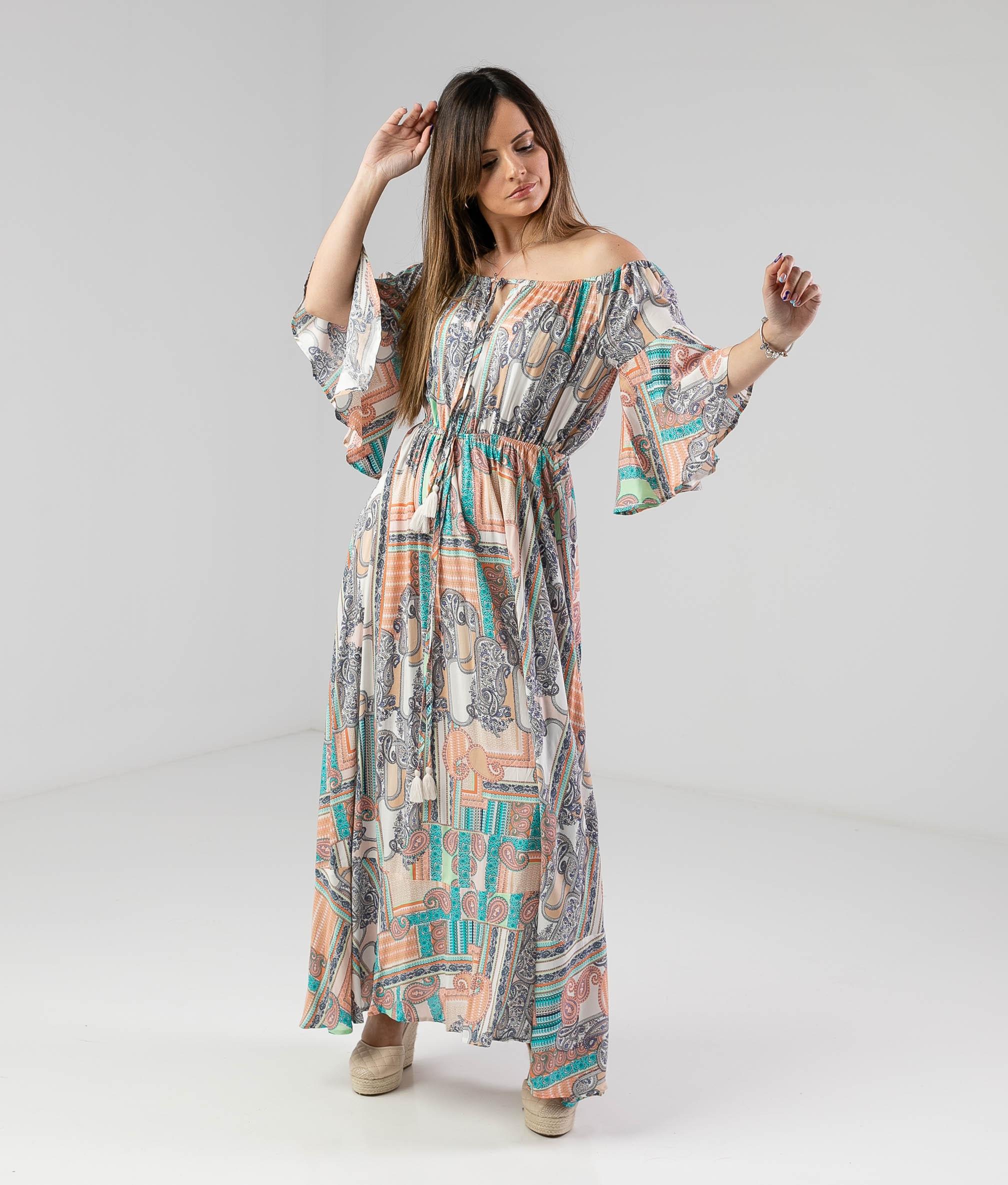 Vestido Bensi - Multicolorido