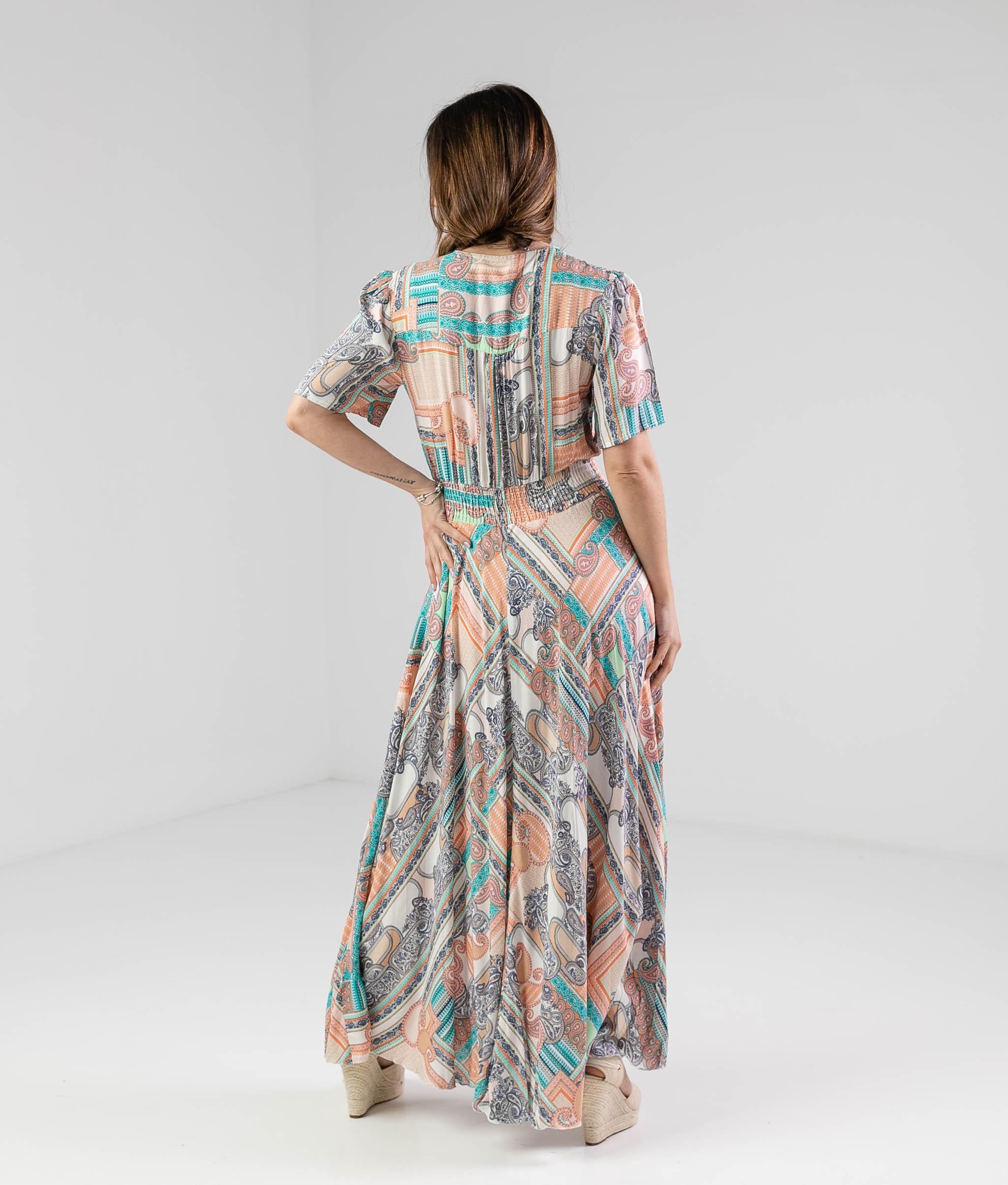Vestido Seira - Multicolor