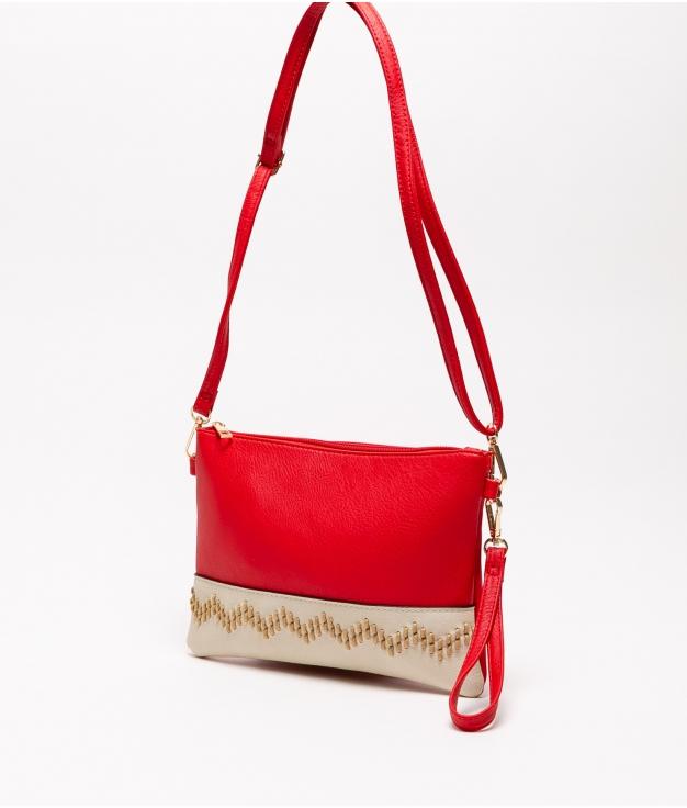 Bolsa de ombro Lima - Vermelho