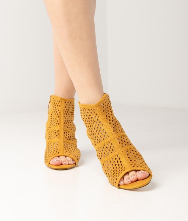 Sandalia de Tacón Galati - Amarillo