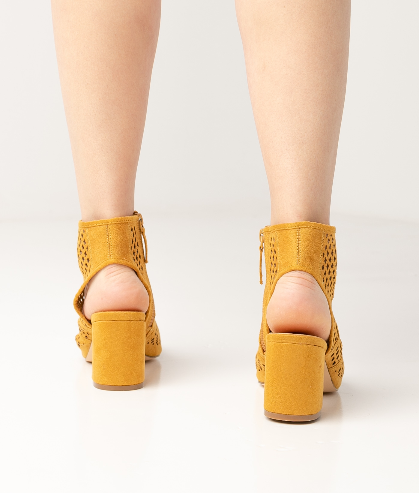 Sandale Talon Galati - Jaune