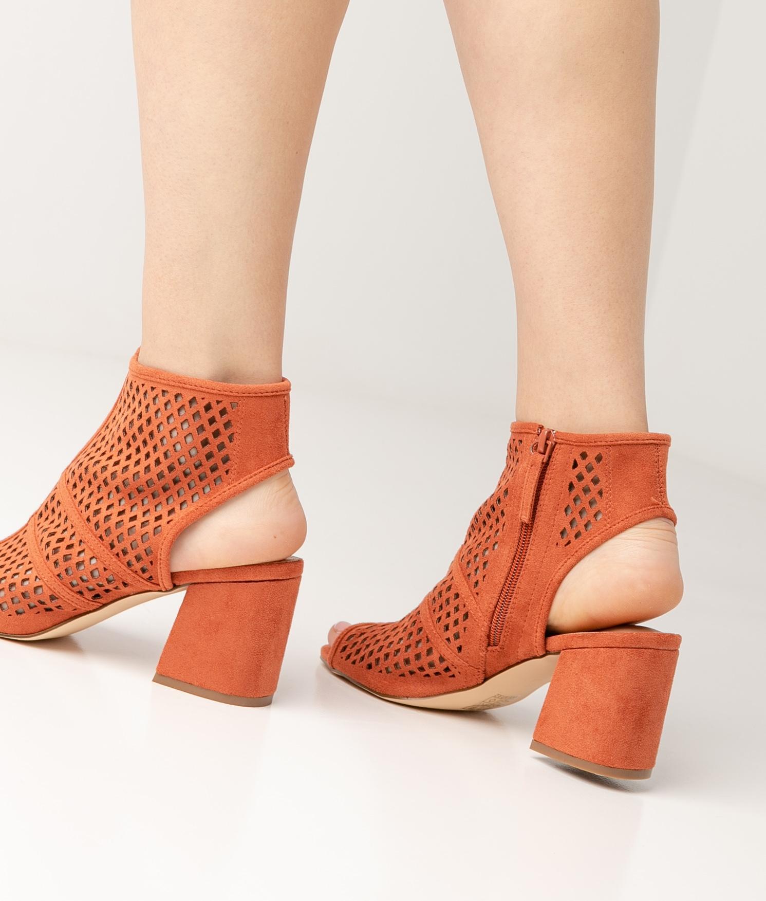 High Sandal Galati - Orange