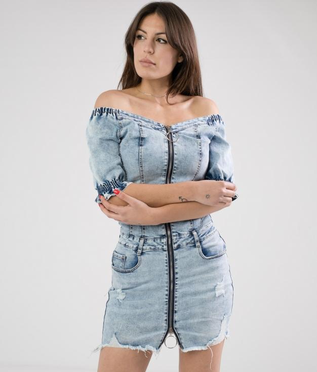 Vestido Taldera - Denim