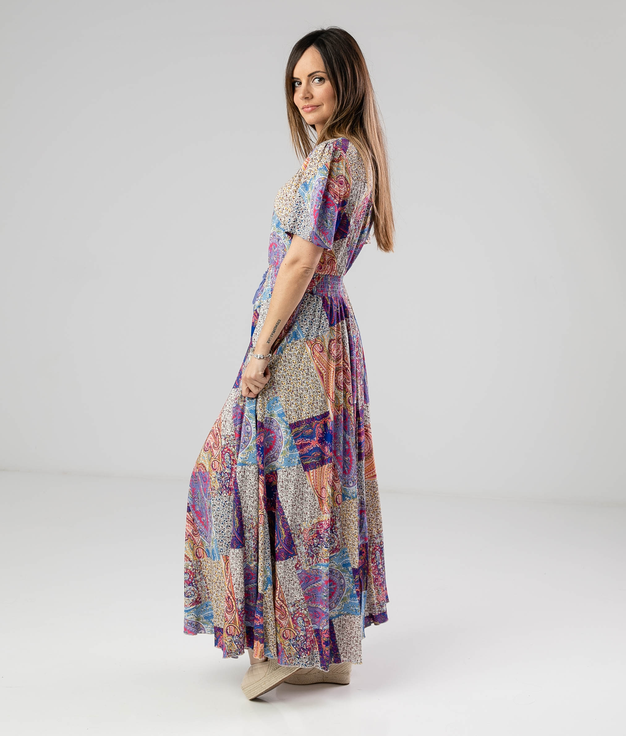Vestido Yumeko - Multicolor