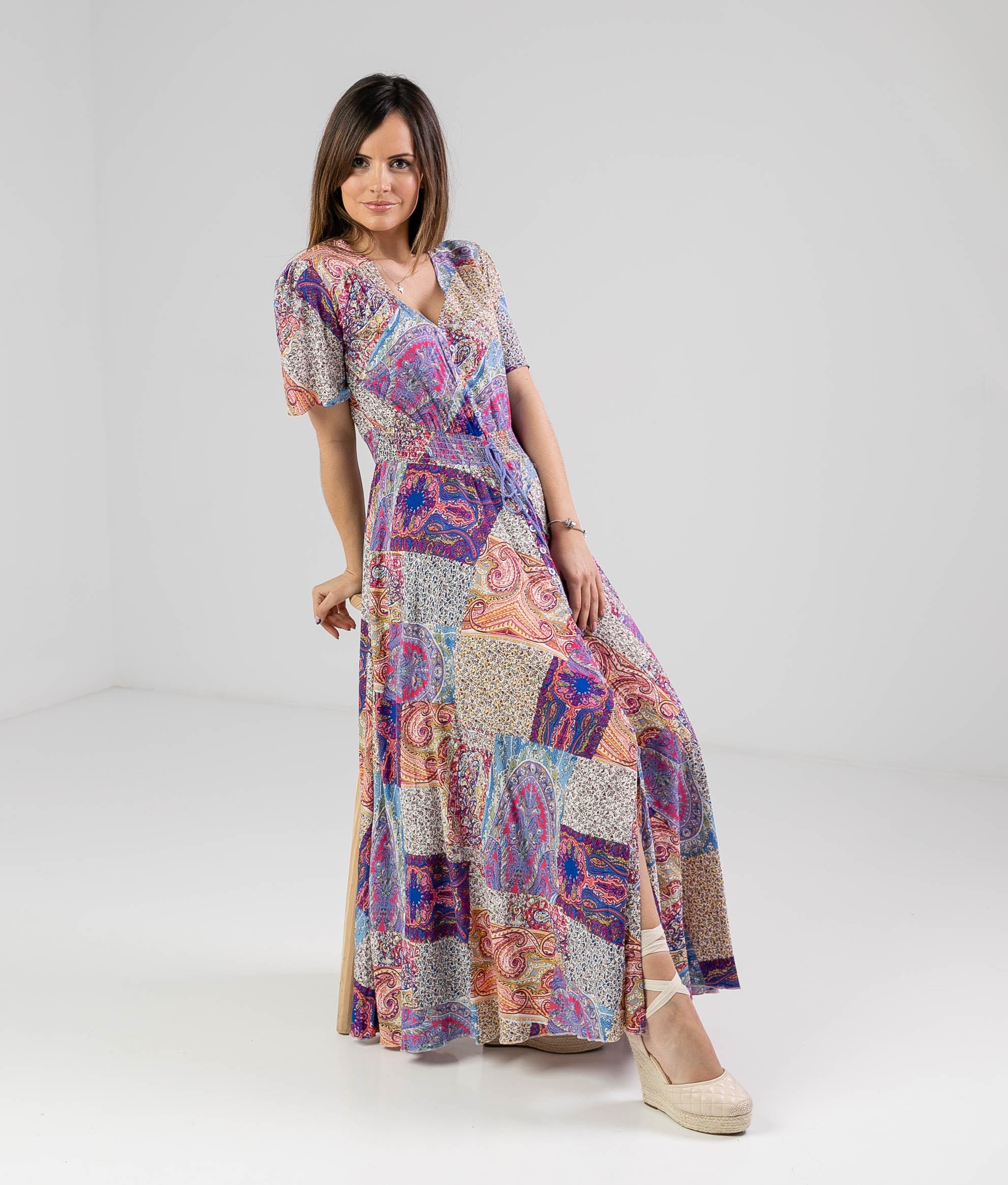Yumeko Dress - Multicolor