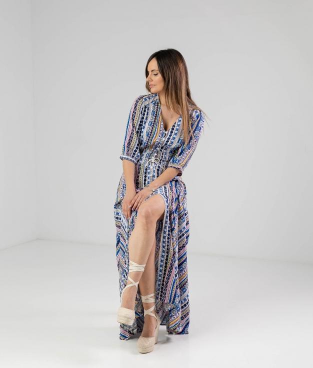Dress Castro - Blue