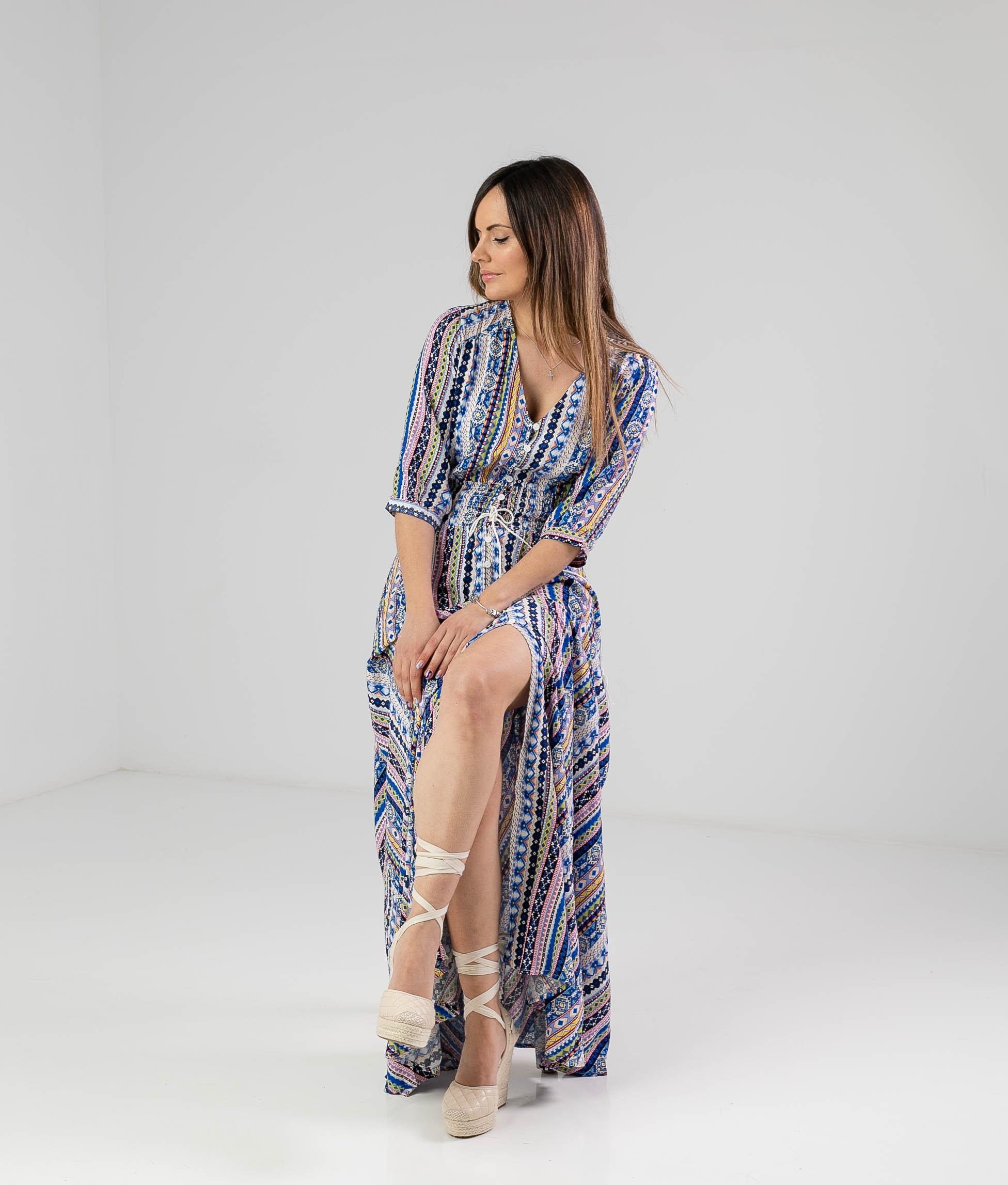 Vestido Cantro - Azul
