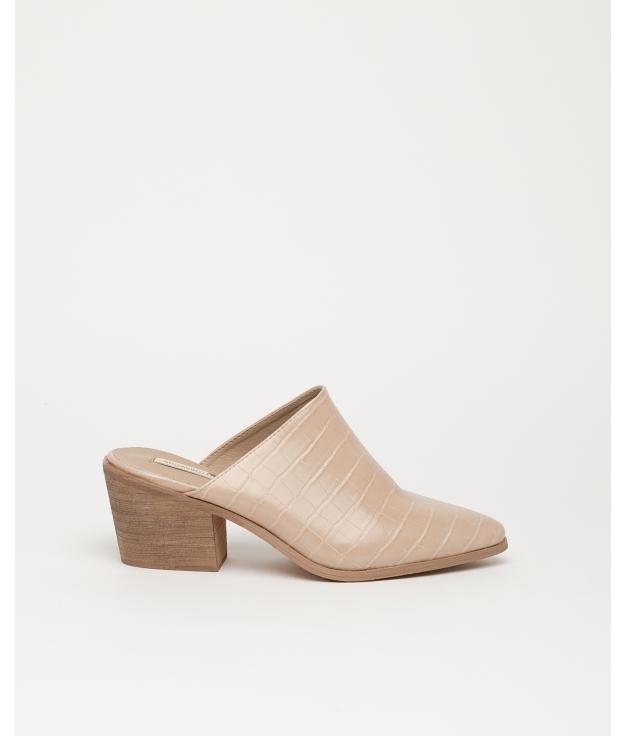 Sandalo con tacco alto Namur - Beige