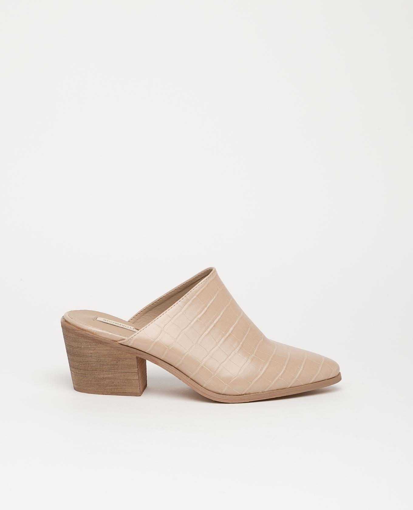 Sandale à talons hauts Namur - Beige