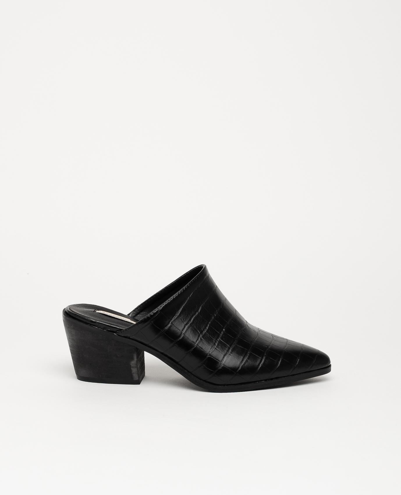 Sandalo con tacco alto Namur - Nero