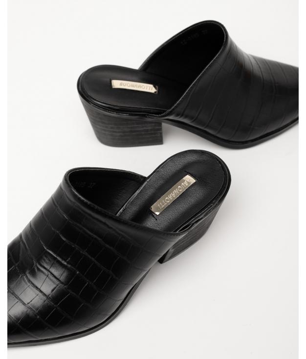 Sandale à talons hauts Namur - Noir