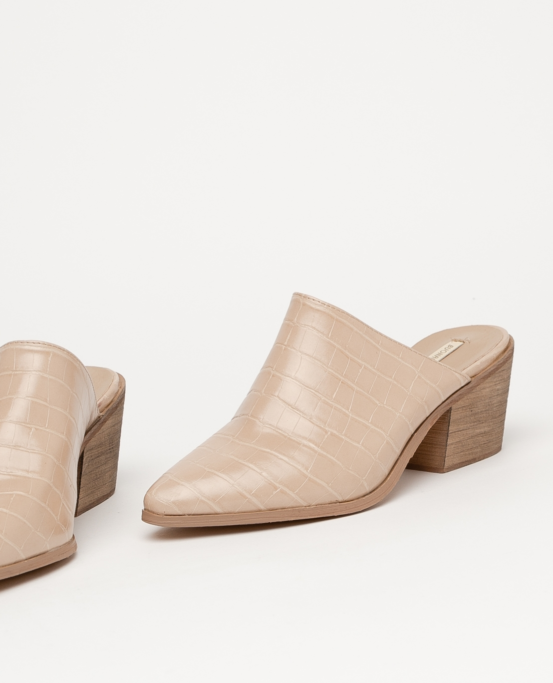Sandalia de tacón Namur - Beige