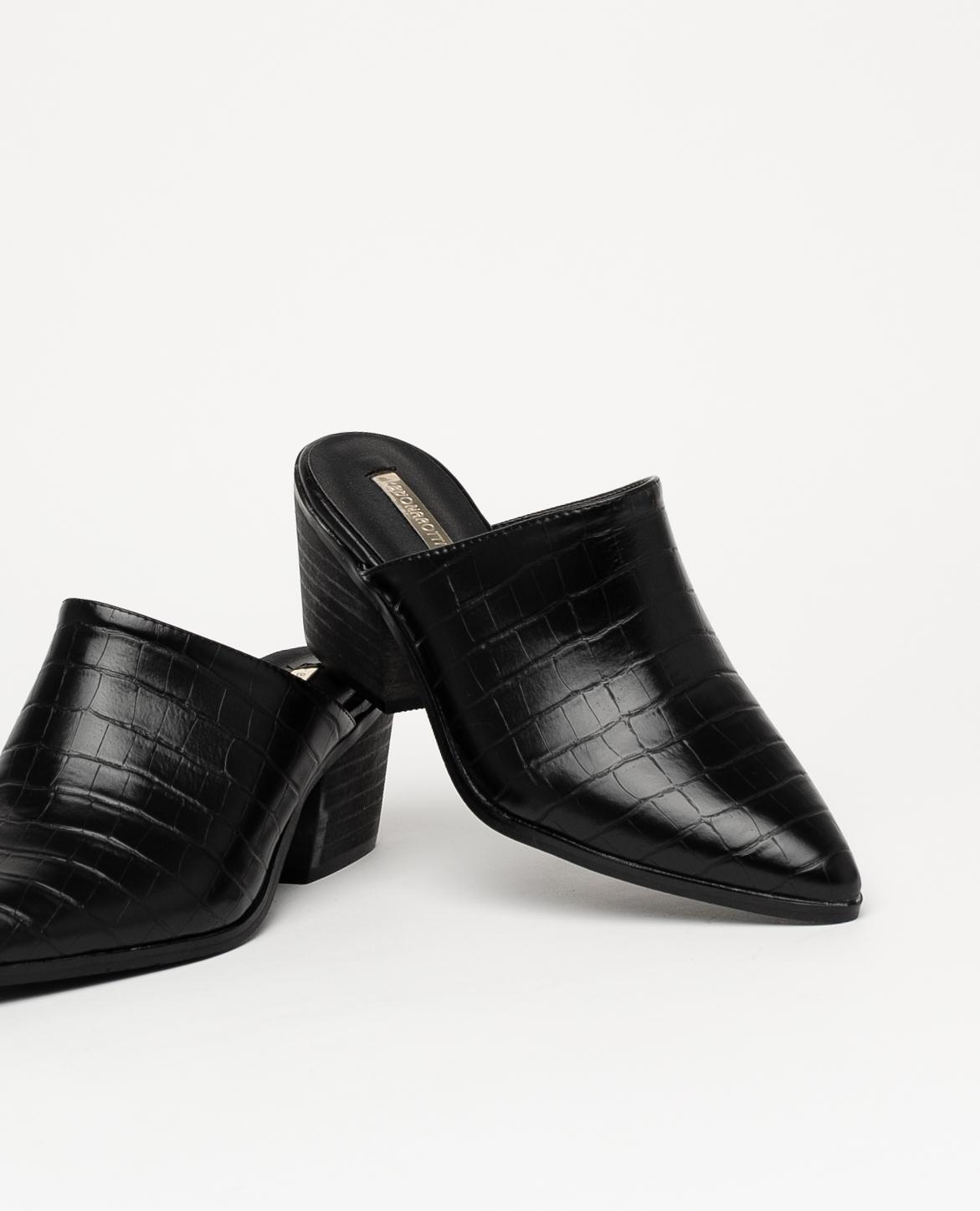 Namur High-heeled sandal - Black