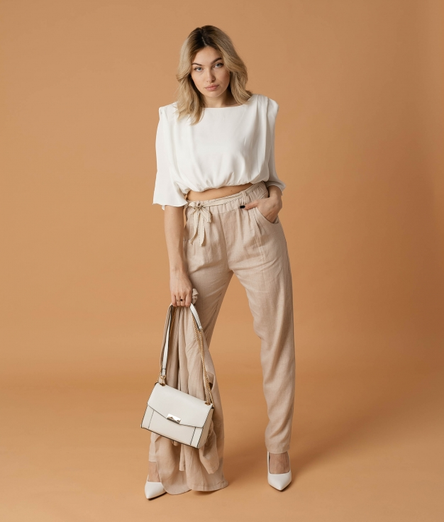 Pantaloni Selone - Beige