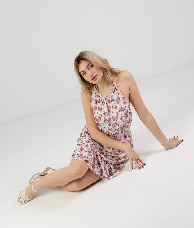 Vestido Budasi - Bianco