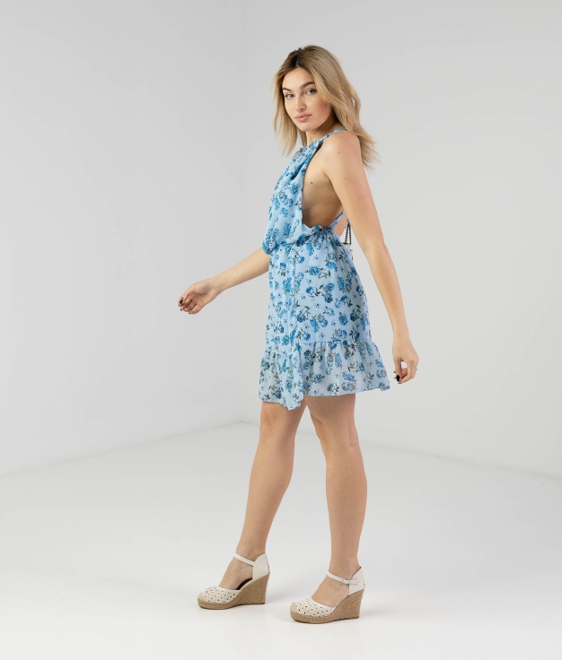 Vestido Budasi - Azul