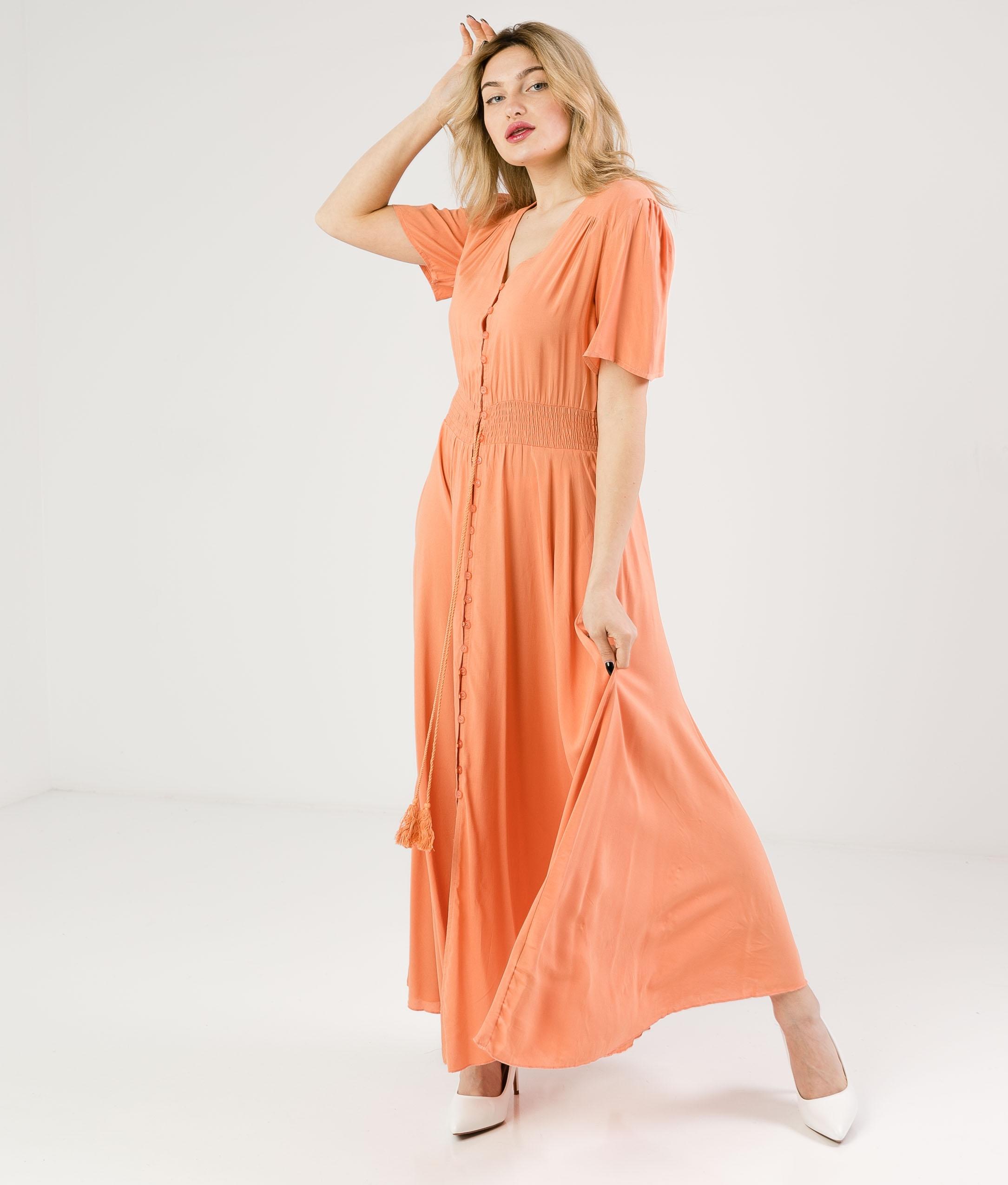 Vestido Desal - Naranja