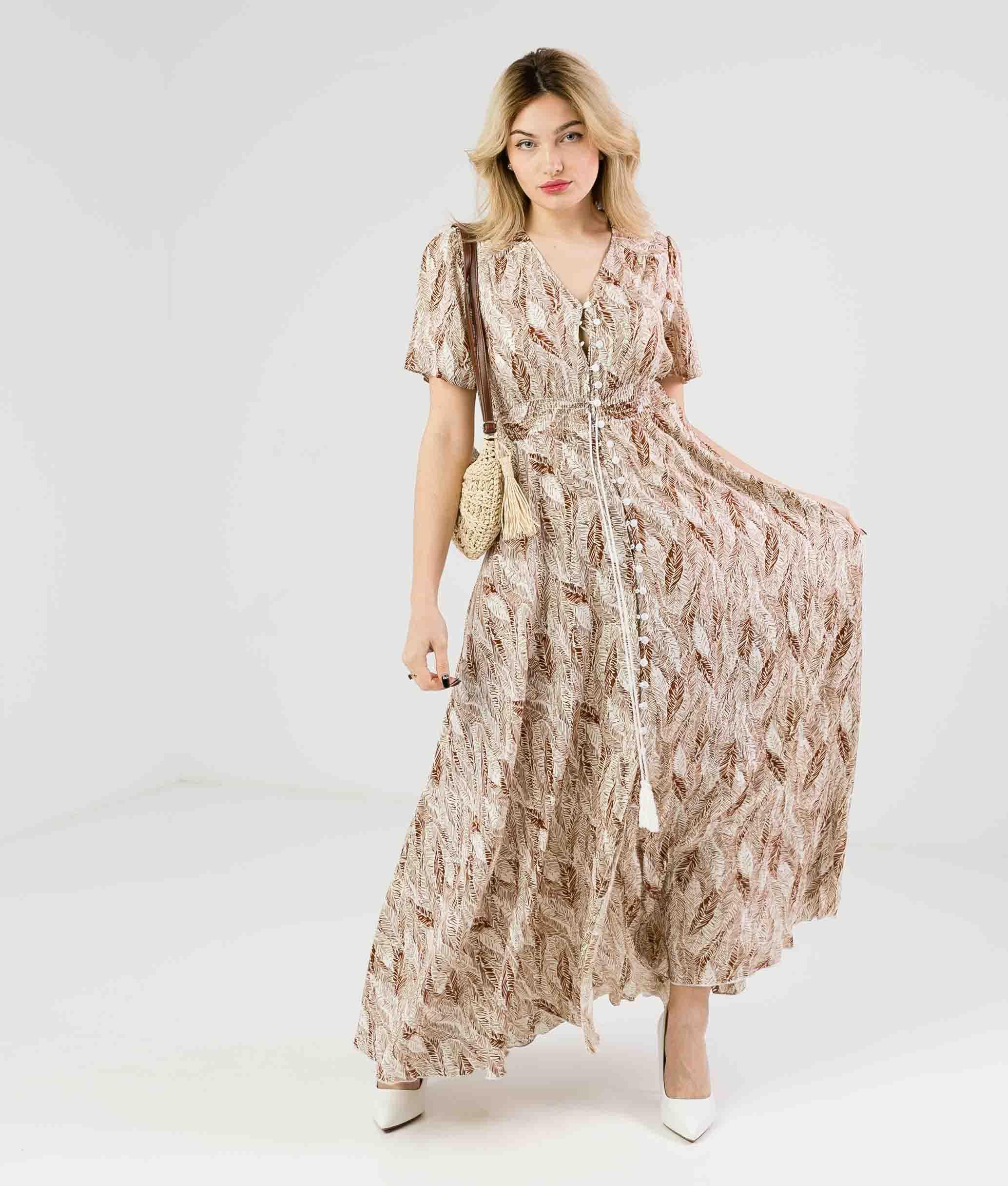 Dress Breda - Camel