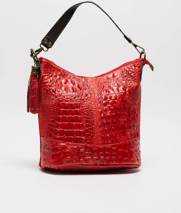 sac porte epaule en cuir Pace - roig