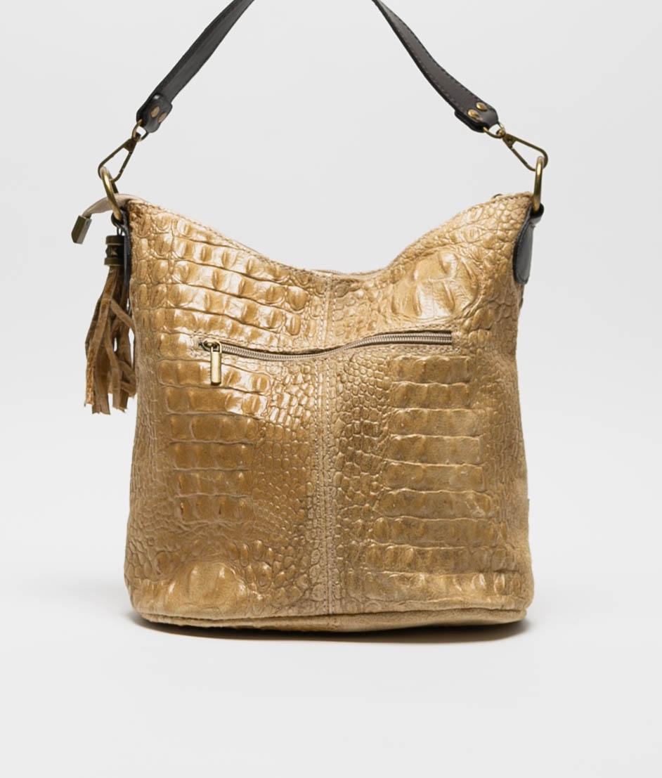 leather Shoulder bag Pace - red