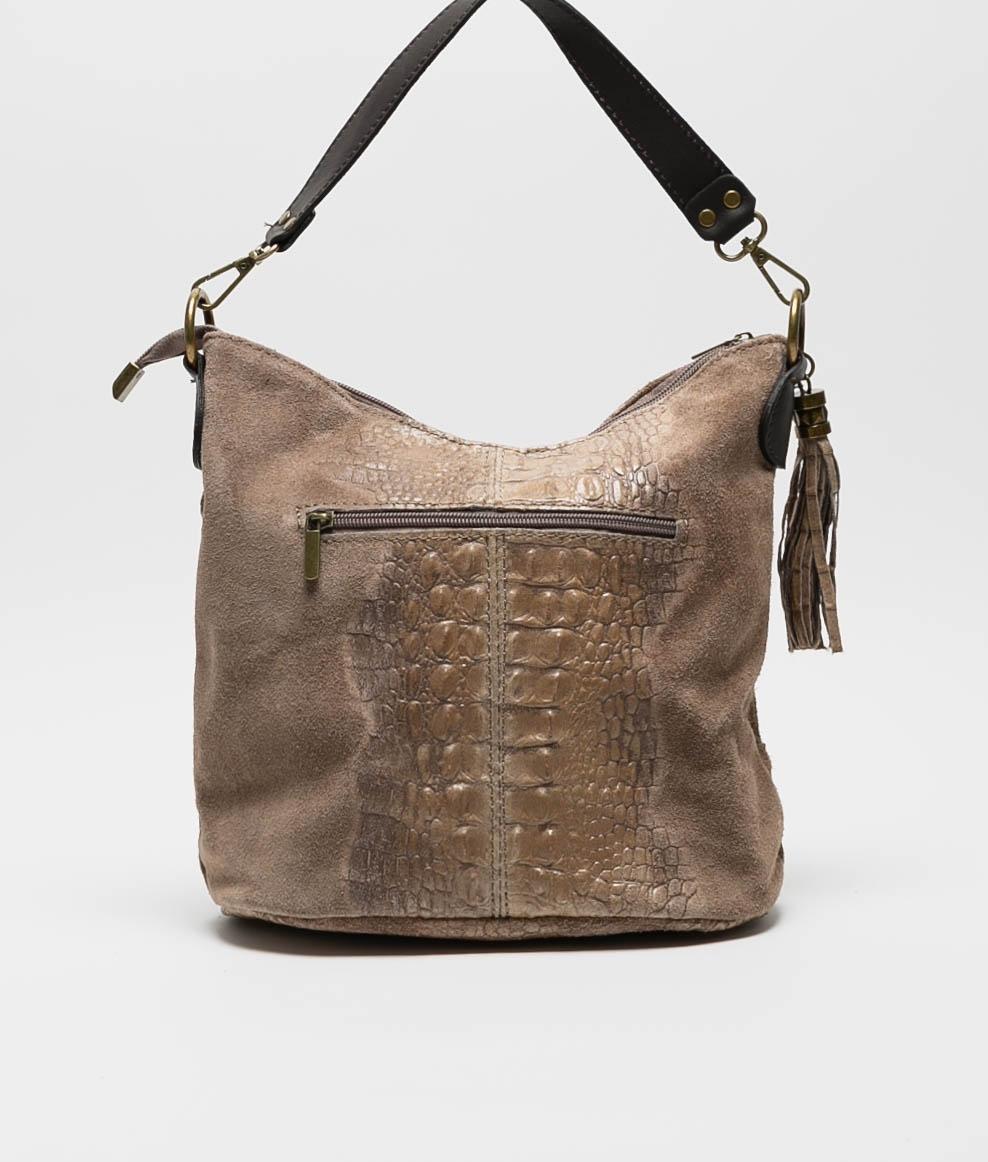 leather Shoulder bag Pace - black