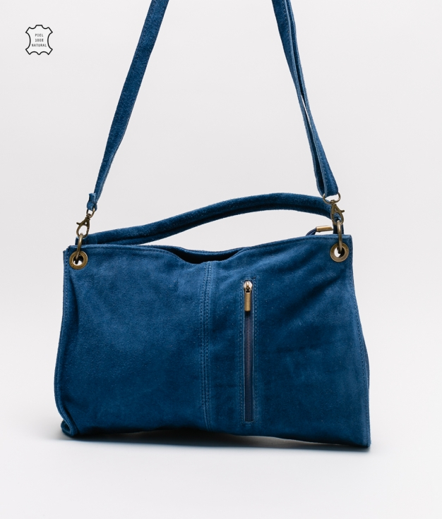 Rica leather bag - blue