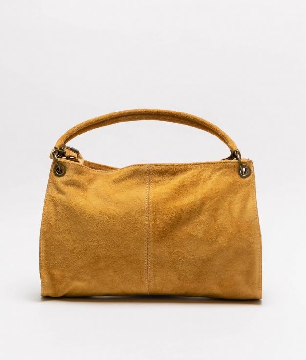 Rica leather bag - mostaza