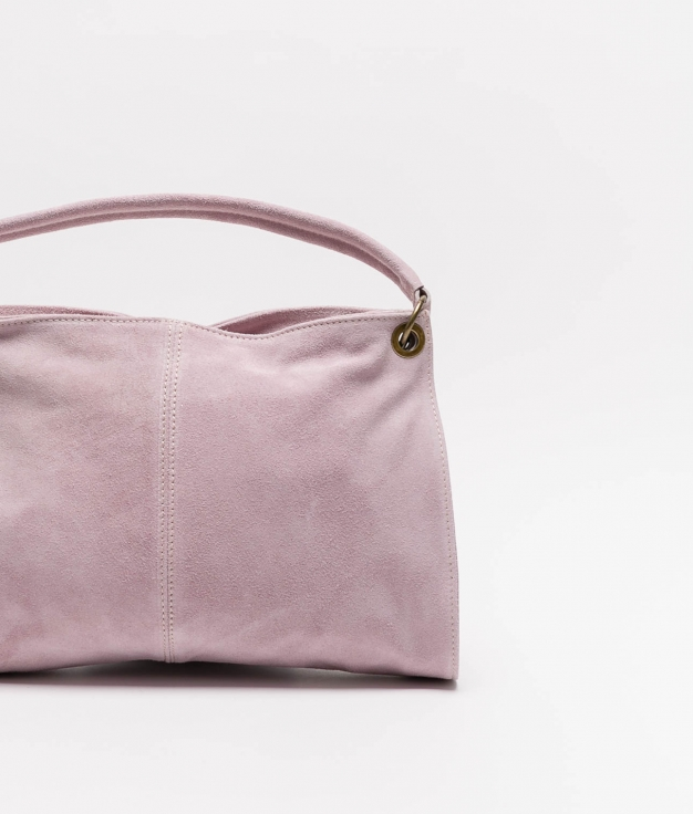Rica leather bag - lila