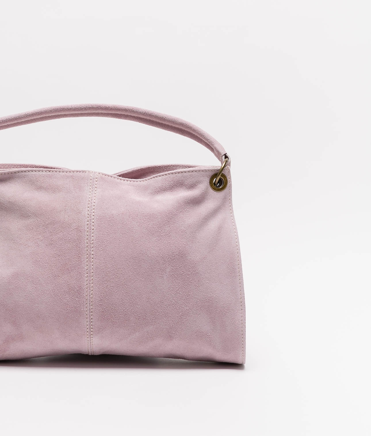Rica leather bag - pink