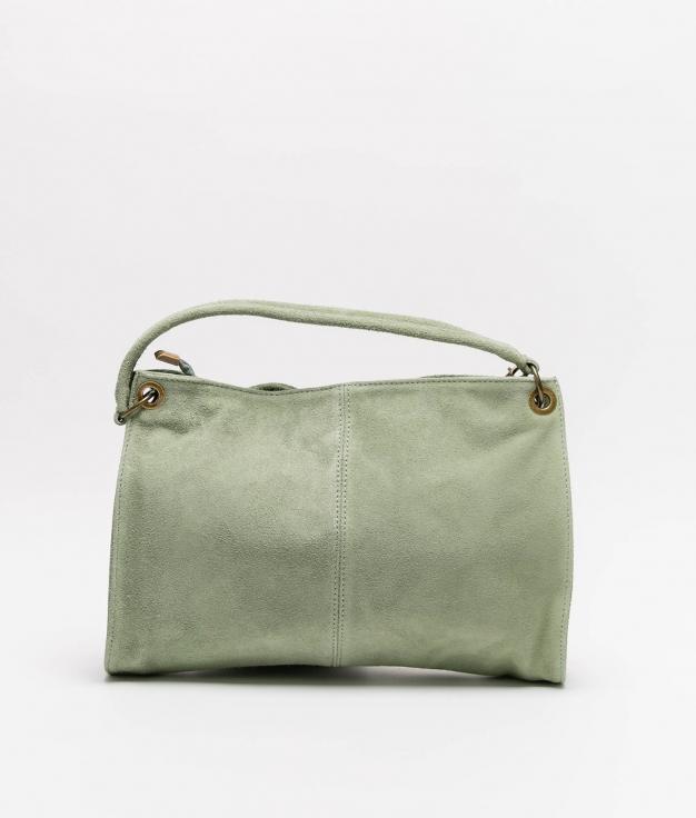 Rica leather bag - manzana
