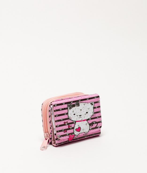 Miaw purse - heart cat