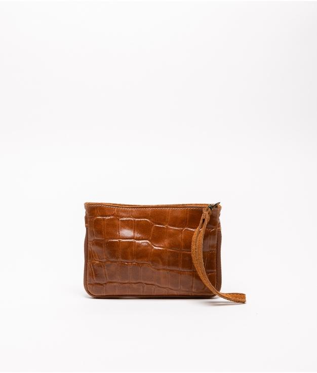 Finland leather crossbody bag - cuero
