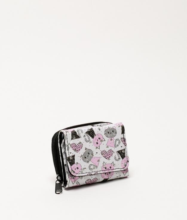 Miaw purse - leopard heart