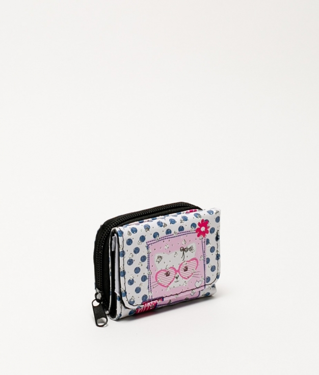 Miaw purse - pink glasses