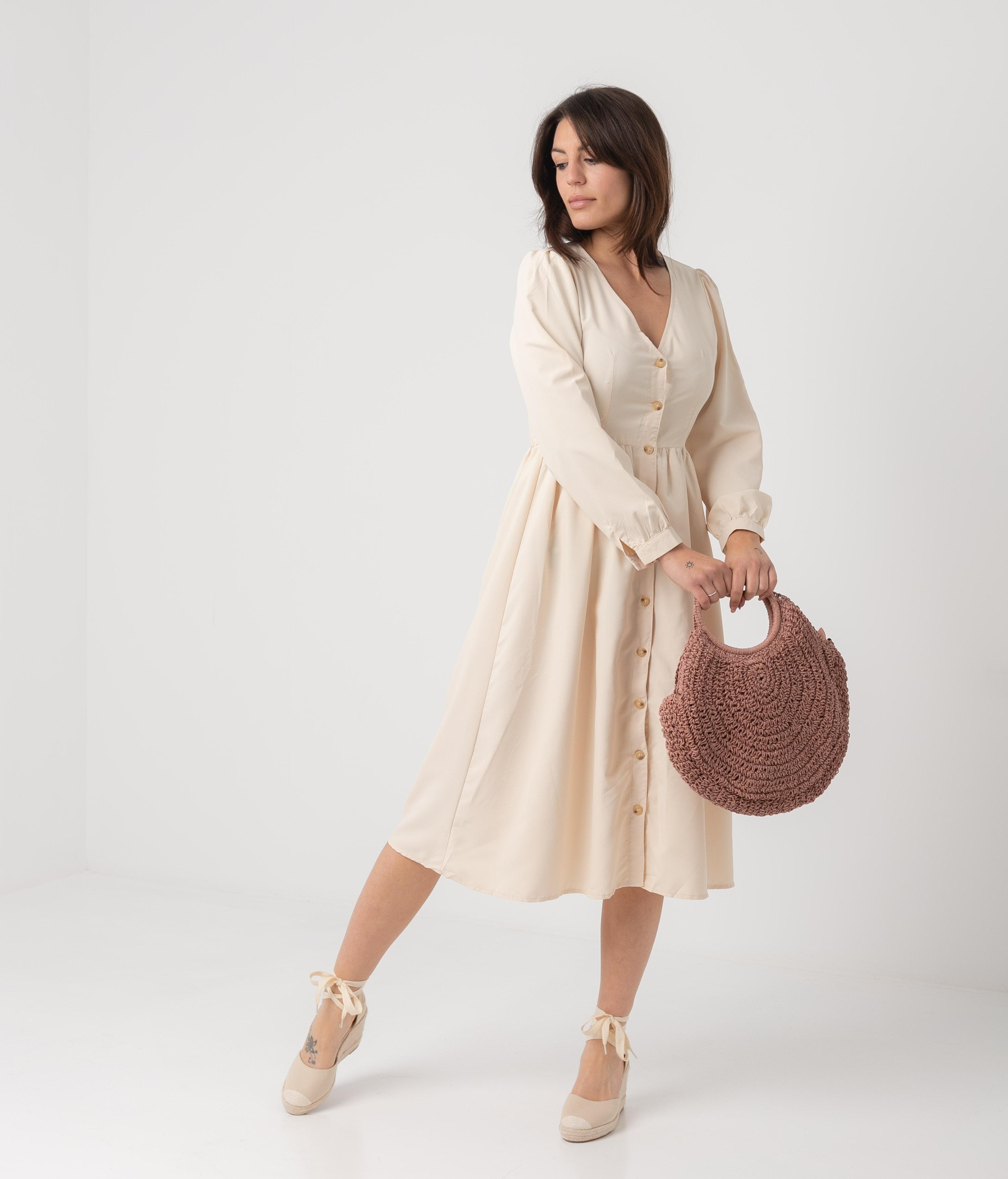 Dress Sasori - Beige