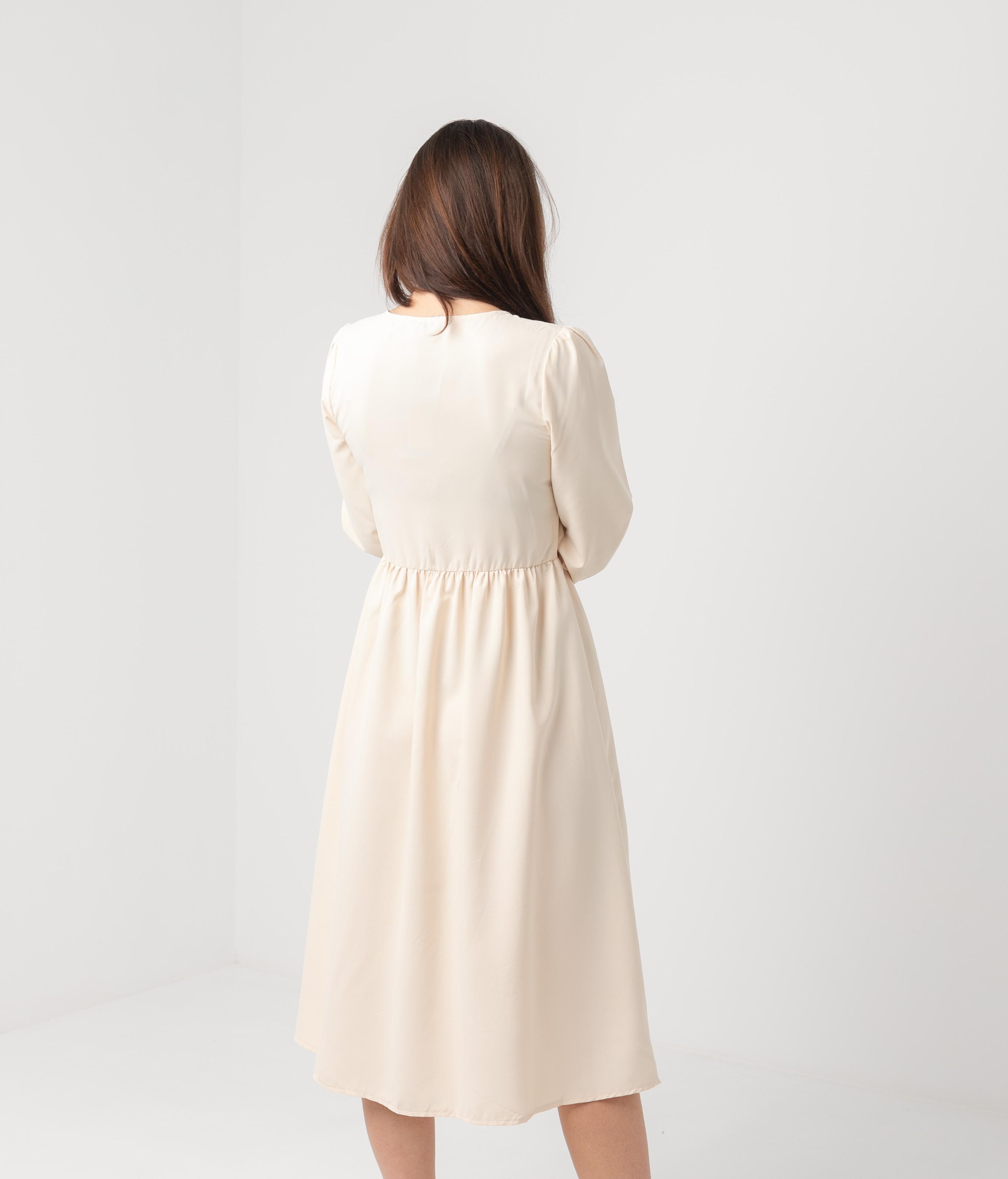 Vestido Sasori - Beige