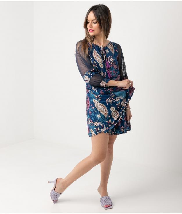 Vestido Hinacle - Azul
