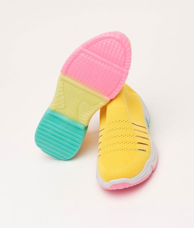Sneakers Adil - Amarillo