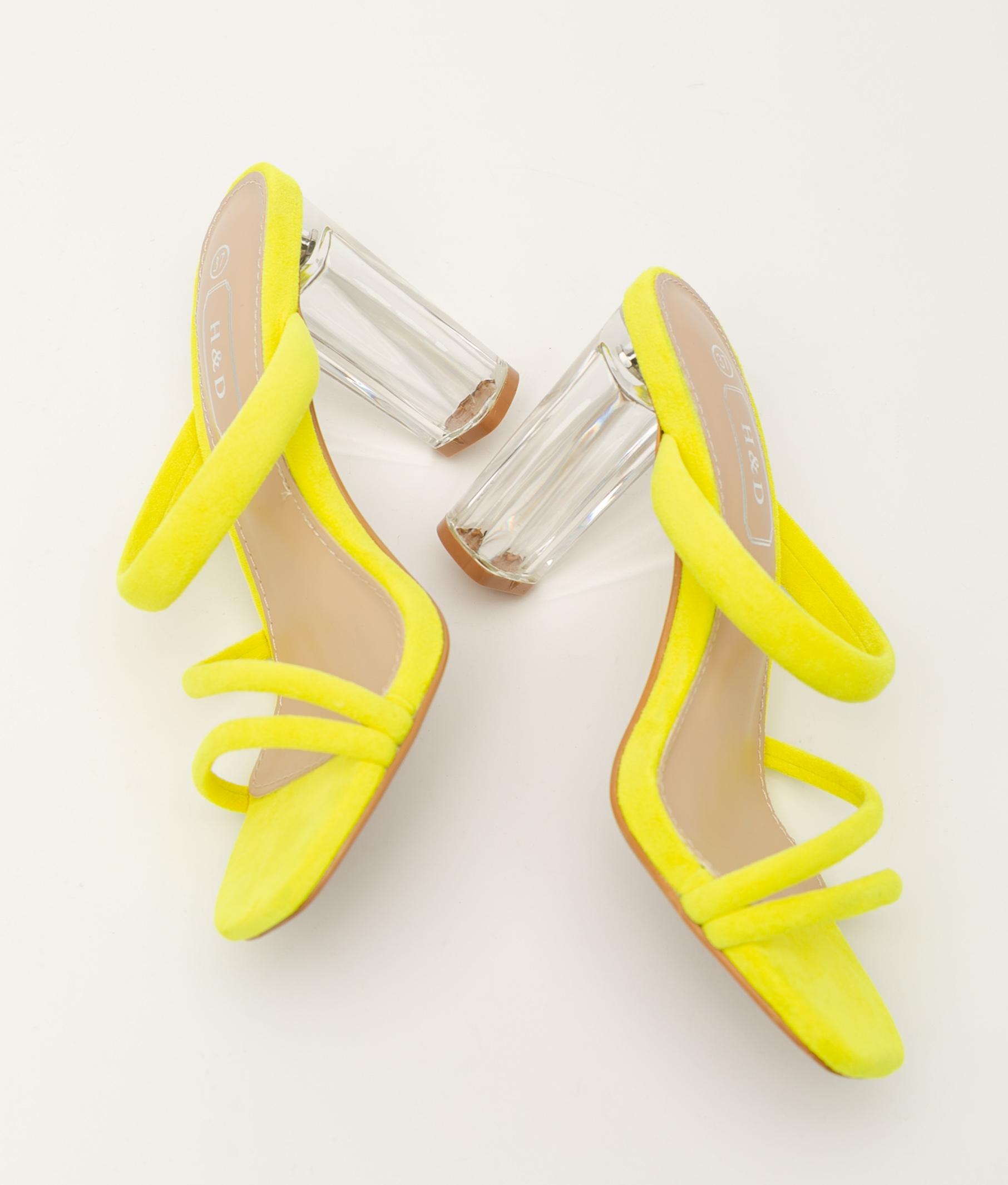 High Sandal Marvao - Yellow