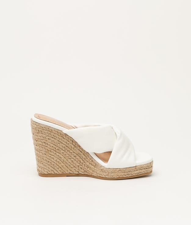 Wedge Heel Izabal - White